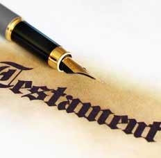 Abogado especialista en testamentos